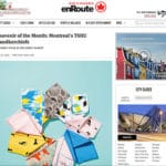 Air Canada En route magazine Handkerchiefs
