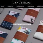 dandy blog mouchoir de poche