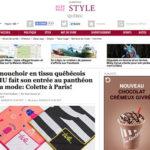 Colette à Paris adopte le mouchoir en tissu TSHU