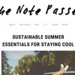 sustainable summer essentials