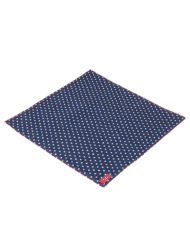 blue spotted handkerchief