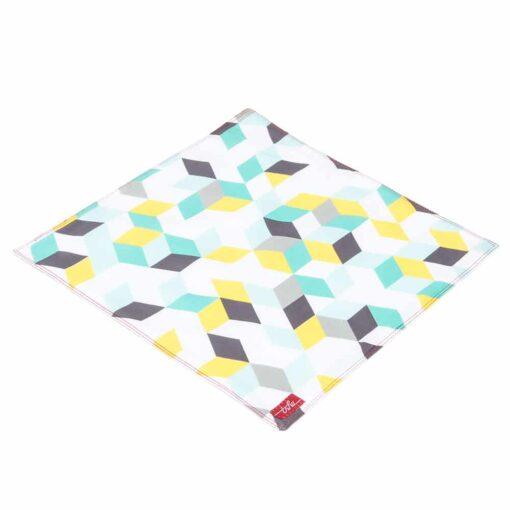 Mouchoir en coton coloré