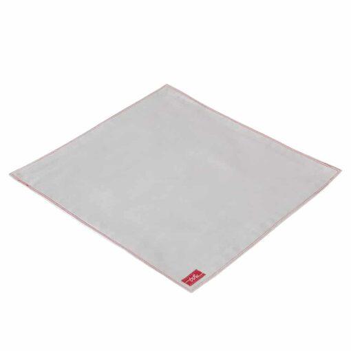 Samuel, mouchoir tissu gris