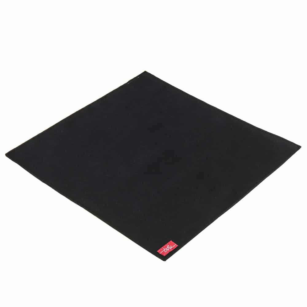 NOF - mouchoir noir en coton certifié bio