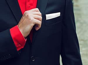suit handkerchiefs