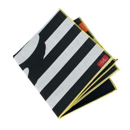 striped handkerchief