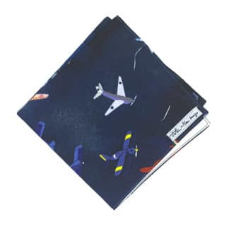 airplane handkerchief