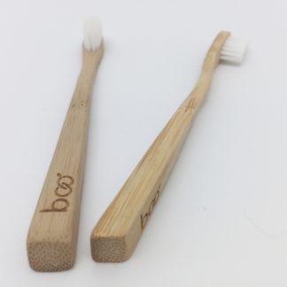 brosse à dent en bambou pour enfants