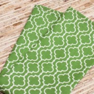 green cloth napkins