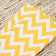yellow cloth napkins