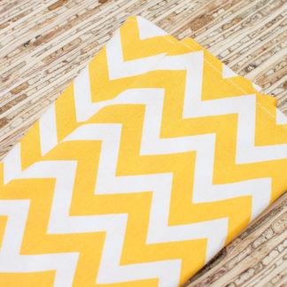 yellow cloth napkins