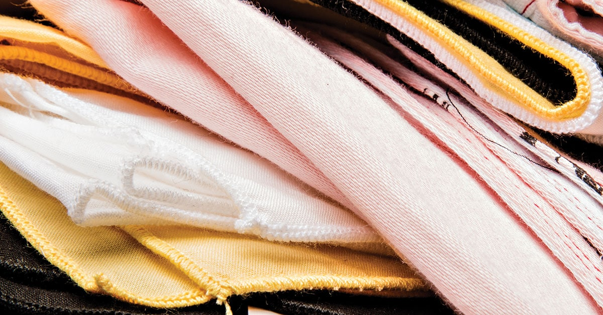 What are handkerchiefs made of