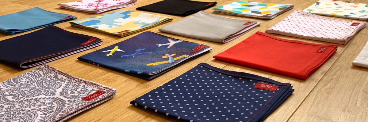 quality colourful cotton handkerchiefs